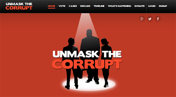 unmask corruption1