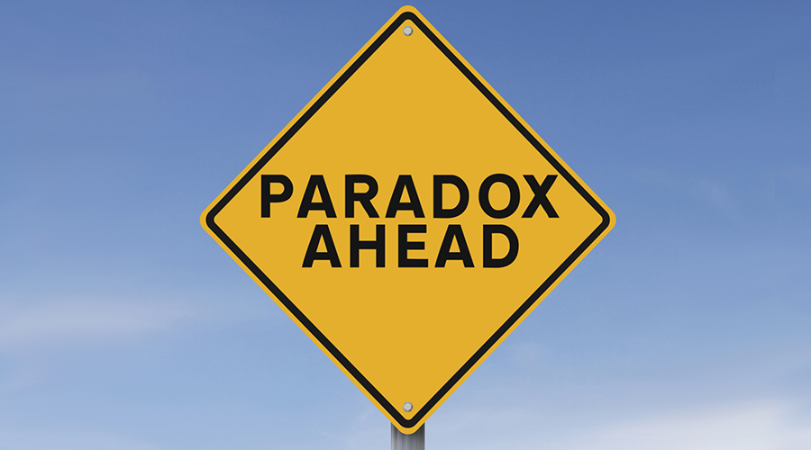paradox ahead copy